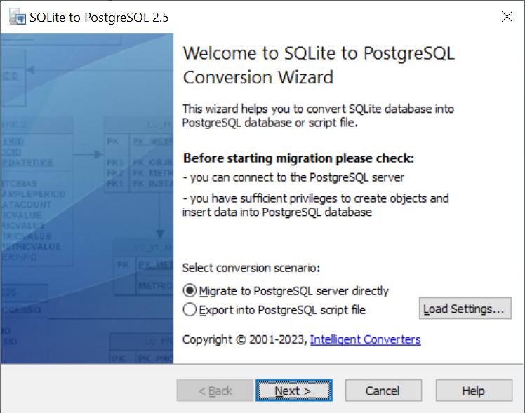 SQLite-to-PostgreSQL